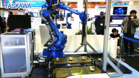 한국야스카와전기(주) - 2015년 대구로봇전
