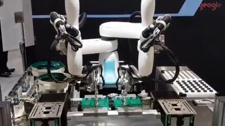 2017년 동경국제로봇박람회(IREX) 가와사키로보틱스