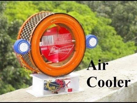 공기 냉각기 만드는 법 - 공기 냉각기 팬