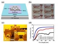 유연하고 투명한 생분해성 유기 광트랜지스터