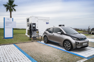 BMW그룹 코리아, 제주시에 전기차 배터리 재사용하는 e-고팡 오픈식 개최