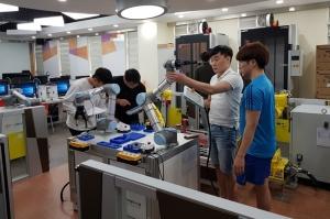 한국로봇산업진흥원, 대학원생 대상 로봇 교육 프로그램 실시