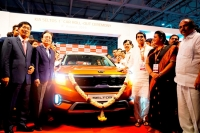 기아차 인도공장, 소형 SUV '셀토스' 양산 개시