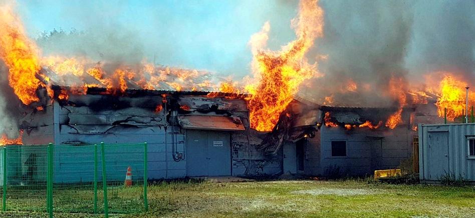 ESS 또 화재?…평창풍력발전 연계 ESS 추정되는 화재 발생