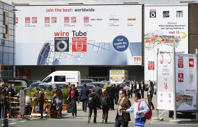 세계 최대 규모의 독일 '와이어 튜브 2020', 오는 3월 개최