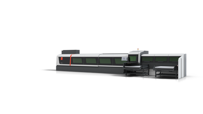 파이버 레이저 기술이 탑재된 바이스트로닉의 신형 고효율 파이프 가공기
