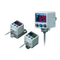 2색 표시식 고정도 디지털 압력 스위치 ZSE40A(F)/ISE40A Series