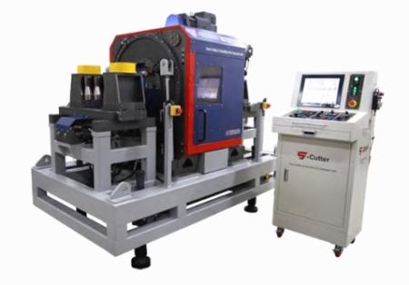 파이프 양쪽 동시 커팅 베베링, 파이프 커팅머신 DCS-300HV / 600HV DUAL Cutting & Beveling Full Automatic Machine,
