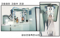 AXLE SHAFT 전용 자분탐상장치