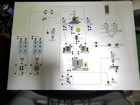 그래픽보드(UV인쇄,알루미늄 3T 820X600), 온누리조각