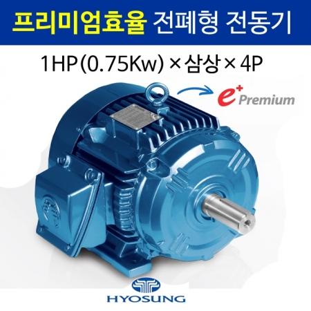 프리미엄효율 전폐형 전동기