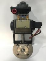 자동 공압식 컴팩트 볼 밸브