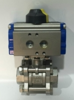 PNEUMATIC (공압식) BALL VALVE , 공압식 자동 볼 밸브
