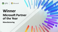 PTC, 마이크로소프트 2020년 올해의 파트너 어워드 '올해의 글로벌 제조 파트너'로 선정
