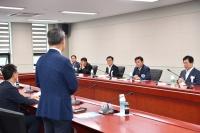 이철우 도지사, 한국폴리텍대학 로봇캠퍼스에서 현장간담회 개최