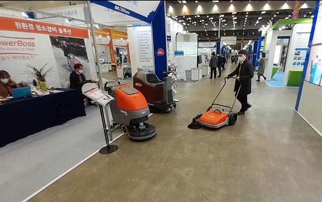 [DAMEX 2020] 친환경 청소장비로 고객 만족도 높인 '세계실업(주)'