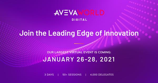 아비바, 세 번째 버추얼 컨퍼런스 '아비바 월드 디지털 (AVEVA World Digital)' 개최