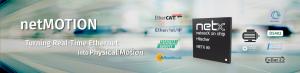 힐셔, 실시간 이더넷과 모션제어 기능 단일 칩에 구현하는 netMOTION 출시