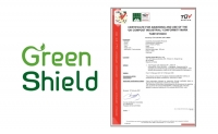 한국제지 Green Shield, 해외 생분해성 인증 획득