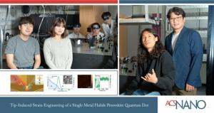 UNIST, 단일 양자점 밝기와 색깔 조절하는 기술 최초 개발!