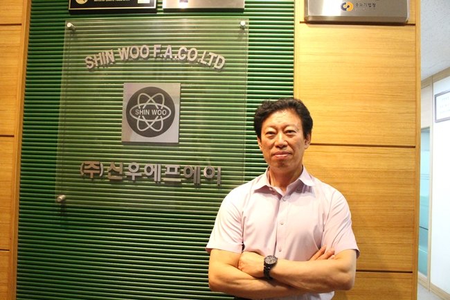 [인터뷰] (주)신우에프에이, 리크 디텍터로 화학물질 접근 NO